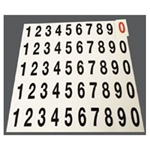Picture of Price Tag Molding Numbers - 20-14315-0001