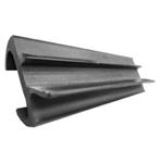 """Picture of Slider Door U-Bumper - 78-996-1015 - 120"""" Black"""