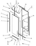 Picture of Door Parts Diagram - 103B NT